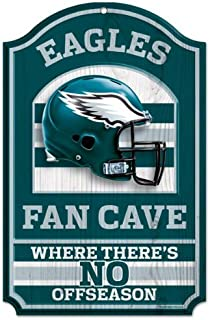 NFL Fan Cave Wood Sign, 11