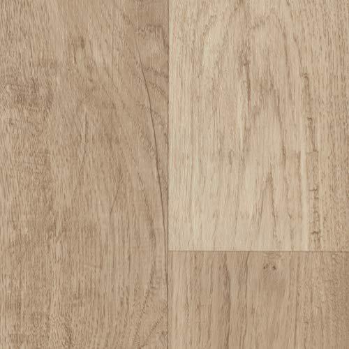TAPETENSPEZI PVC Bodenbelag Landhausdiele Weiß | Vinylboden in 3m Breite & 2,5m Länge | Fußbodenheizung geeignet | Vinyl Planken strapazierfähig & pflegeleicht | Fußbodenbelag Gewerbe/Wohnbereich