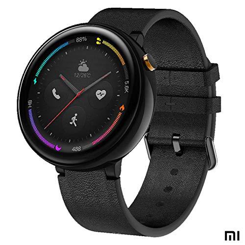 Amazfit Xiaomi Nexo Reloj Smartwatch Deportivo - 4G LTE (eSIM) - BioTracker PPG - GPS + GLONASS - Seguimiento Actividad Personal Inteligente - 1GB Almacenamiento Música Negro (Android & iOS)