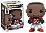 """Funko 10232 NFL 3 10232 """"POP Vinyl Von Miller Broncos Figure"""