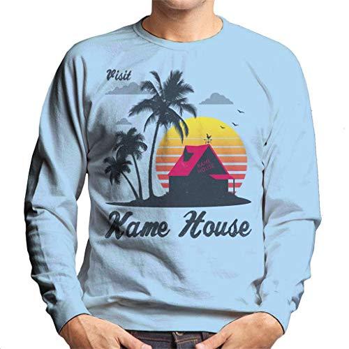 Cloud City 7 Visit Kame House Dragon Ball Z Men's Sweatshirt