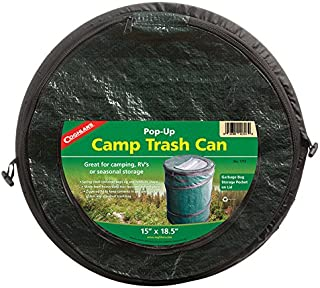 portable trash can camping