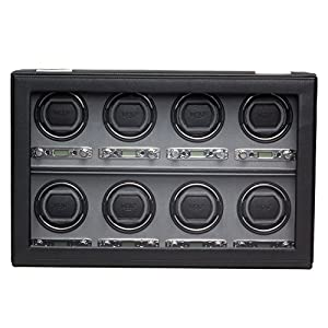 Wolf Designs 456902 Viceroy Collection Module 2.7 Eight Watch Winder with Cover image