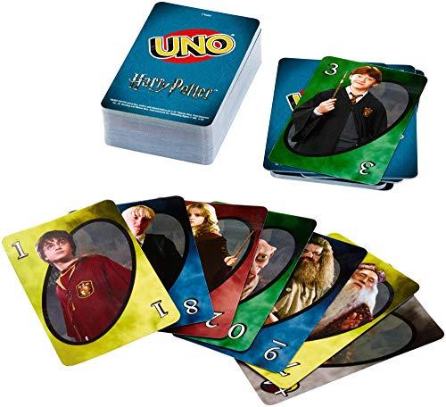 Mattel Games UNO - Harry Potter, Juego de Cartas Para Niños, Multicolor,...