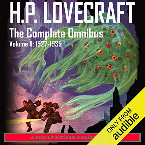 『H.P. Lovecraft, The Complete Omnibus, Volume II: 1927-1935』のカバーアート