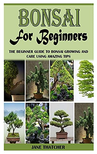 BONSAI FOR BEGINNERS: The Beginner Guide to Bonsai Growing and Care Using Amazing Tips