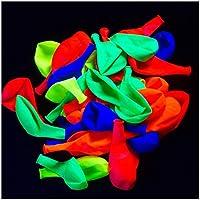 UV Blacklight Reactive Fluorescent / Neon Party Balloons