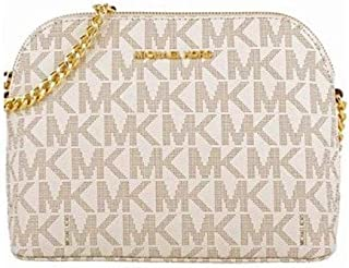 Michael Kors Violet Cindy Dome Crossbody Bag Purse Handbag