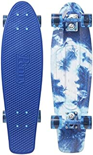 "Penny Skateboard(ペニースケートボード) PENNY GRAPHICS COMPLETE 27"" 1NGR4 CRACKED DYE 全長27インチ(約69cm)、幅約19cm"
