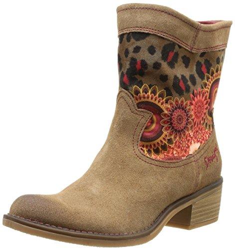 Desigual Damen BOOT CAMPERA SALVAJE Bootsschuhe, Braun (6020), 36 EU