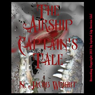 The Airship Captain's Tale audiobook cover art
