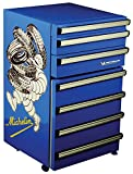Michelin MTCF50 1.8 Cubic Foot (50 Liters) Tool Chest Fridge with Wheels by Koolatron