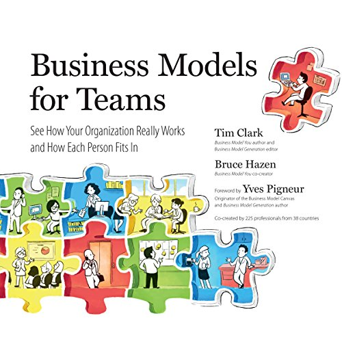 Business Models for Teams audiobook cover art
