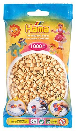 Hama 207-27 - Perlen, 1000 Stück, beige