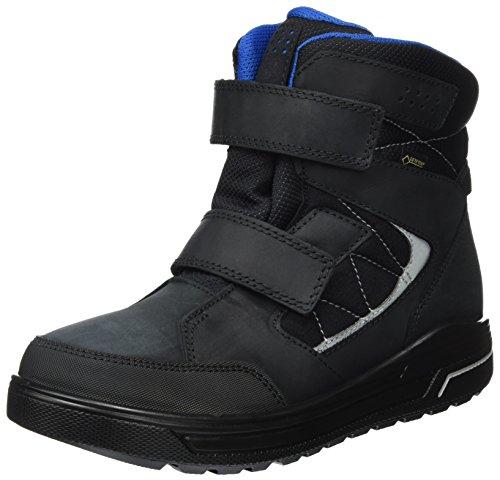 ECCO URBAN Snowboarder Stiefel, Schwarz (Black/Black), 38 EU
