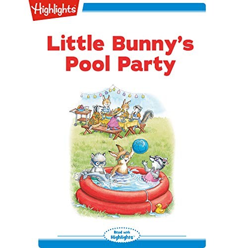 Little Bunny's Pool Party copertina