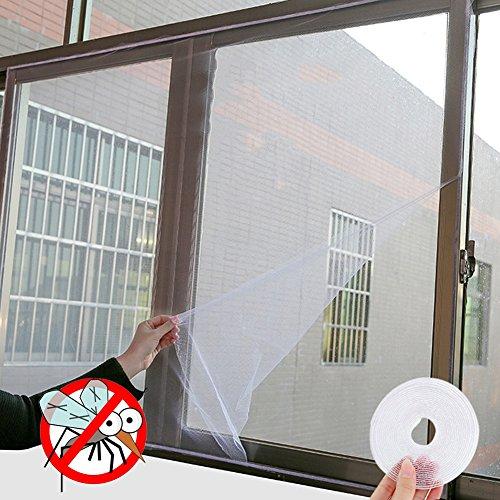 KeKeandYaoYao 130x150cm Zomer Binnen Insect Vliegscherm Gordijn Mesh Bug Muggen Netting Deur Raam Anti Muggennet DIY Gordijn Voor Keuken Raam Pest Contral