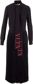 VALENTINO Luxury Fashion Womens SB3VAN854NK0NR Black Dress   Fall Winter 19