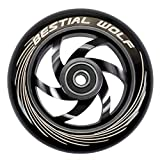 TWISTER-110-BLACK Rueda Bestial Wolf 110 mm para patinetes Pro Scooters...