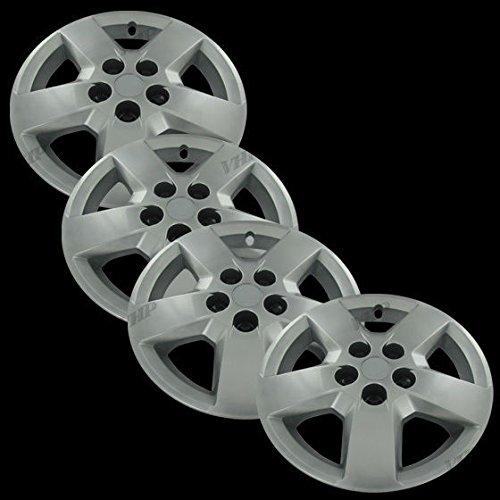 "Silver 16"" Hub Cap Wheel Covers for Chevrolet HHR/Malibu - Set of 4"