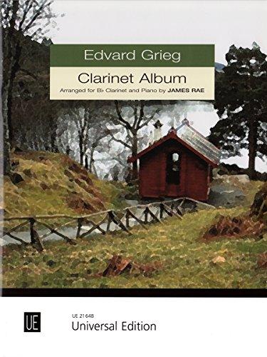 Clarinet Album für Klarinette und Klavier: For Clarinet and Piano