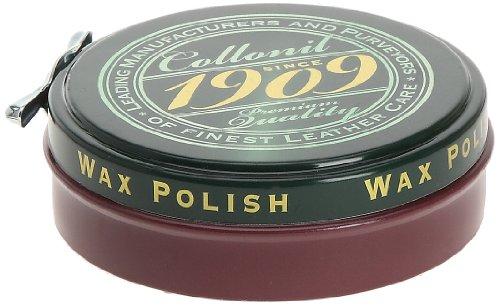 Collonil 1909 Wax Polish, Producto de reparación de Zapatos para Hombre, Burdeos, 75 ML