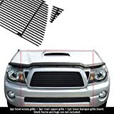 APS Compatible with 2005-2010 Tacoma TRD Sport Black Billet Grille Grill Combo Insert T87742H