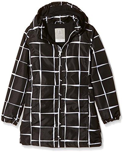 NAME IT nitMELLO K Long Jacket Square 116 Chaqueta, Multicolor (Black), 140 para Niñas