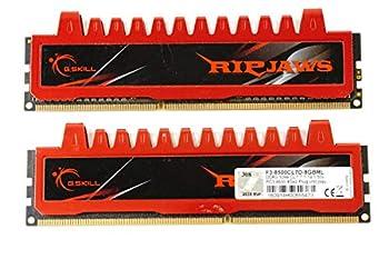 G.Skill Ripjaws Series 8GB  2 x 4GB  240-Pin DDR3 SDRAM 1066  PC3 8500  Desktop Memory F3-8500CL7D-8GBRL