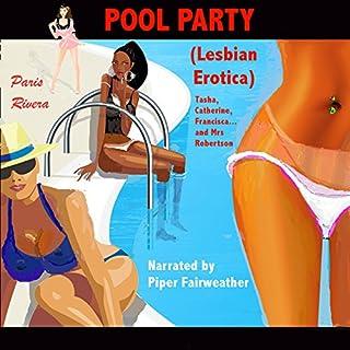 Pool Party - Lesbian Erotica audiobook cover art