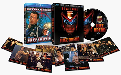 Juez Dredd - Edición Especial Limitada y Numerada con Funda 3D y 8 Postales(Blu-Ray) (Judge Dredd)