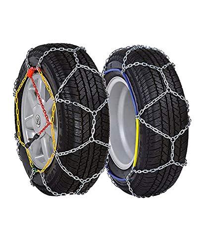 Rueda de coche neumático cadena de nieve Cadenas de nieve, cadenas for neumáticos de alto rendimiento Cadenas Templado aleación de acero de manganeso nieve coche fácil de instalar for la mayoría de Au