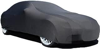 Elastic Stretchy Flexible Black Satin Car Cover for Audi TT 2007-2013