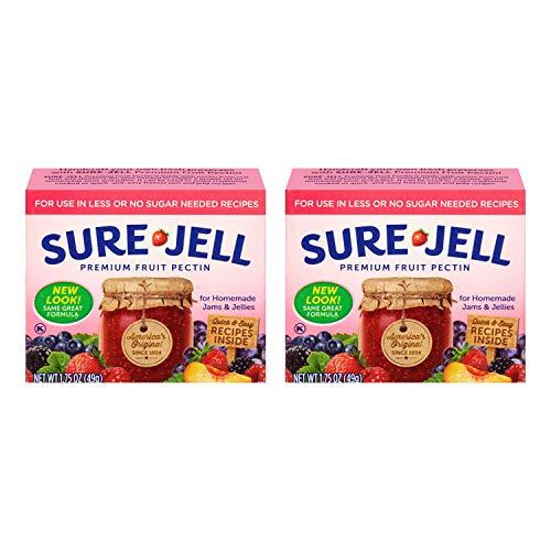 Kraft Sure Jell Light Premium Fruit Pectin 1.75oz (2 Pack)