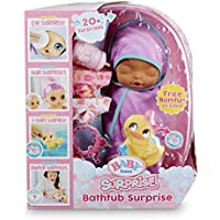 Baby Born Surprise Bathtub Surprise Purple Swaddle Bow