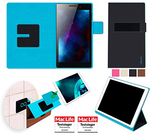 Hülle für Lenovo Tab 2 A7-10 Tasche Cover Case Bumper | in Schwarz | Testsieger