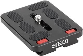 Sirui TY-60 Kit para cámara - Accesorio para cámara (Negro, Aluminio, 39,4 g, 4,9 cm, 60 mm, 10,8 mm)
