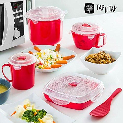 Appetitissime Tap It Tap - Set de Cocina Al Vapor para ...