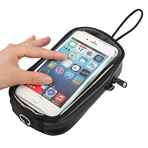 DOLA Borsa da Serbatoio Magnetica per Moto - Porta Telefono Impermeabile per Moto Ospita Telefoni Cellulari da 7 Pollici, Adatto A Tutte Le Motociclette con Serbatoi di Metallo