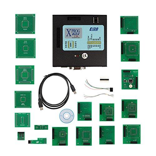 Xprog-m, V5.55 Xprog, M Programmer, Xprog-Box ECU Programmer, Volladapter mit USB Dongle, speziell für BMW Cas4, Entschlüsselung, leicht zu installieren