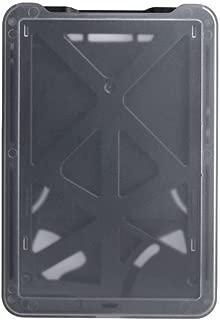 Brady People ID 1840-6661 B-Holder Rigid Plastic Vertical 3-Card Holder, Black