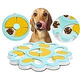 Lifreer Juguetes para Perros para aburrimiento, 1 Cuenco de Caza para Perros, 1 Pieza de Juguete para morder Perro (18 cm)
