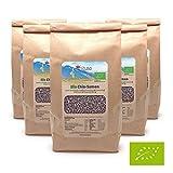 Mituso Semillas De Mituso Bio Chia, Paquete De 5 (5 X 1000G) 5000 g