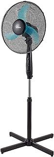Ardes AR5AM40PR Penny 40PR - Ventilador de pie con mando a distancia, altura regulable, 3 aspas, 40 cm, 3 niveles de velocidad, negro