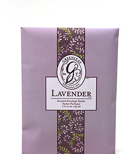 Unbekannt Greenleaf - Duft-Sachet Duftsäckchen Dufttüte Duftgranulat Duftbeutel Lavender