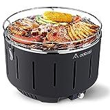 Aobosi Portatile Barbecue da Tavolo|Barbecue a Carbone Senza Fumo|Carbonella Griglia da...
