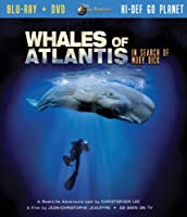 Jules Verne Whales of Atlantis in Search of Moby Dick(Two -Disc Blu Ray/Dvd Combo)