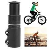 Elevador de vástago de Bicicleta, Extensor de vástago de Horquilla de Bicicleta de 115 mm, Textura Mate Ajustable para Tubos de Horquilla, Accesorios Extensores para Bicicleta para