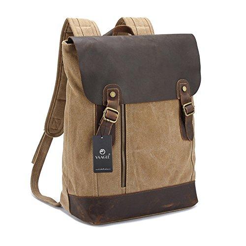 YAAGLE Verücktes Pferd Outdoor Reisetasche schick Rucksack Gepäck Herren Schultertasche Business Taschen-blau