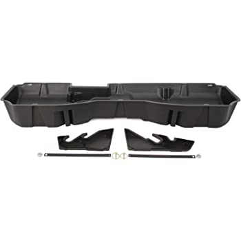 DU-HA Under Seat Storage Fits 14 thru 18 Chevrolet & GMC Silverado & Sierra Light Duty Crew Cab & 15 thru 19 Heavy Duty Crew Cab Part#10300